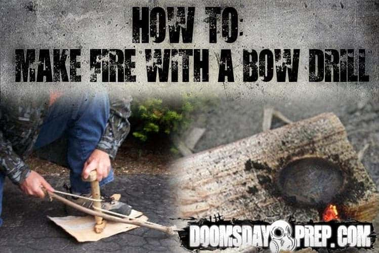 How To Make Fire with a Bow Drill