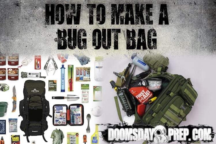 How To Make A Bug Out Bag Doomsday Prep