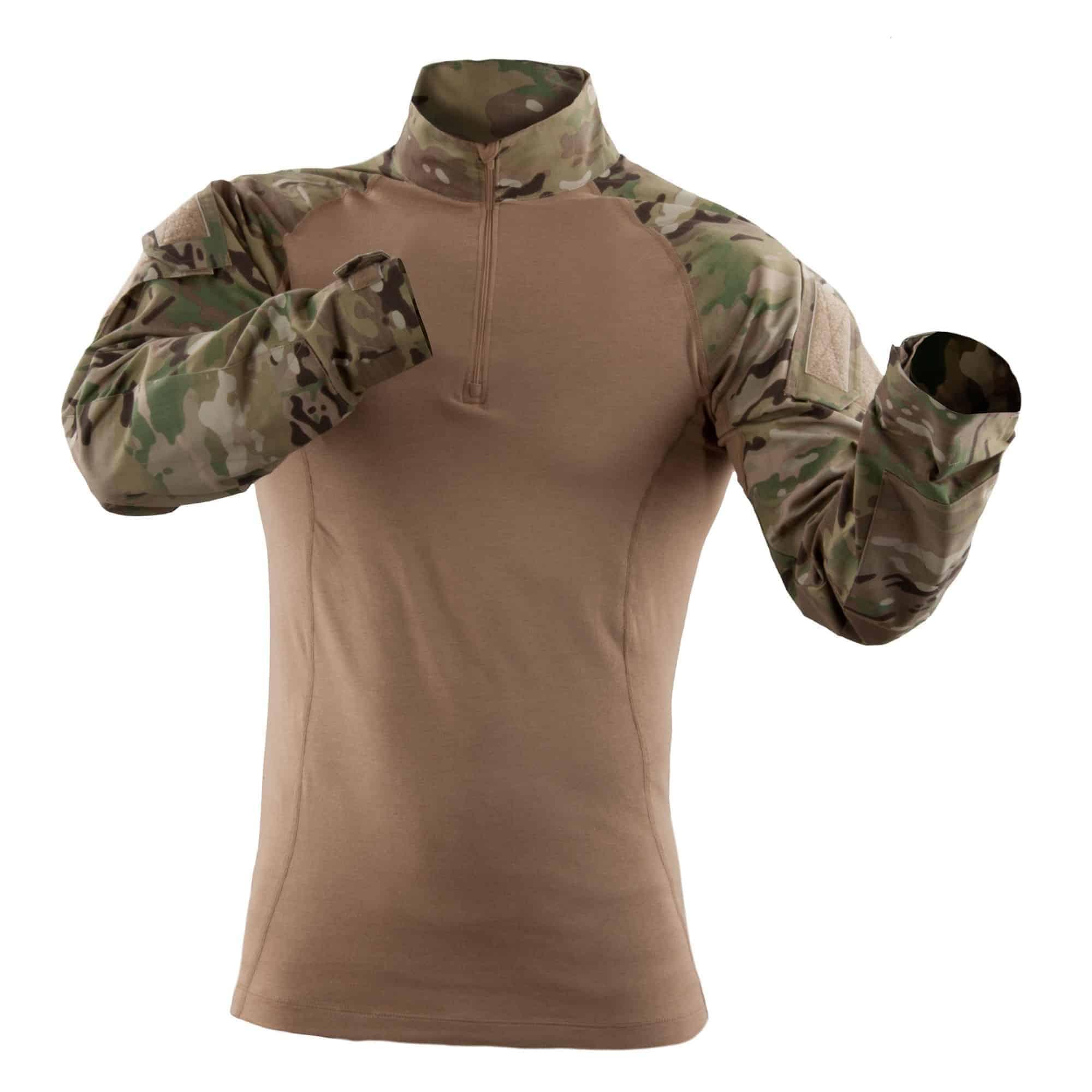 Tactical Long Sleeve Multicam Tdu Rapid Assault Shirt