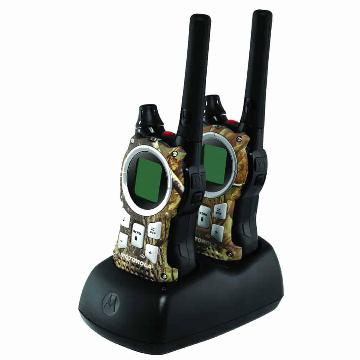 Motorola MR355R 35-Mile Range 22-Channel FRS/GMRS Two-Way Radio (Pair) -  Doomsday Prep
