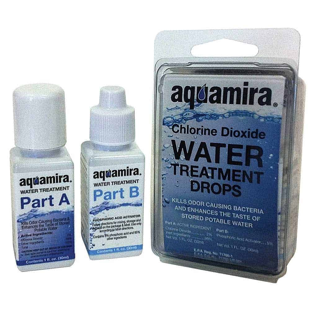 Aquamira Water Treatment 1oz Doomsday Prep
